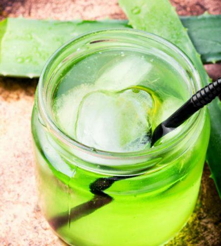 aloe vera juice healthy drink